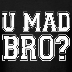 U MAD BRO JERSEY SHORE T-Shirts
