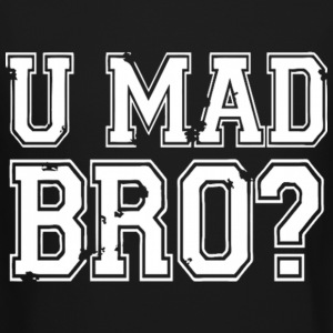 U MAD BRO JERSEY SHORE Long Sleeve Shirts - Crewneck Sweatshirt