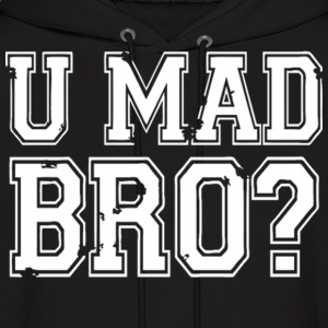 U MAD BRO JERSEY SHORE Hoodies - Men's Hoodie