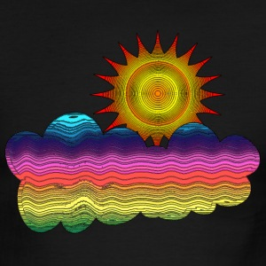 Got the sun in the 70's - Men's Ringer T-Shirt