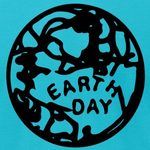 Earth day Men's T-Shirt by American Apparel - Men's T-Shirt by American Apparel