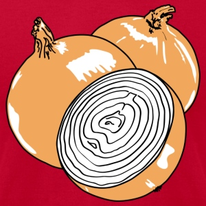Onion (black - brown - white) T-Shirts - Men's T-Shirt by American Apparel