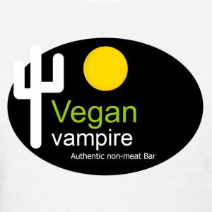 vegan vampire non meat bar veggie - Women's T-Shirt
