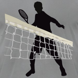 Tennis - Men's T-Shirt by American Apparel