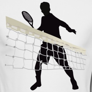 Tennis - Men's Long Sleeve T-Shirt by Next Level