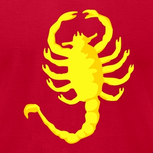 Scorpion Drive, 2c, Scorpio,  T-Shirts - Men's T-Shirt by American Apparel