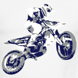 Motocross - Men's Ringer T-Shirt