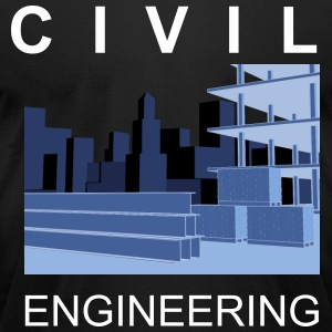 Civil Engineering - Men's T-Shirt by American Apparel