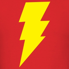Big Bang Theory Lightning Bolt T-Shirt