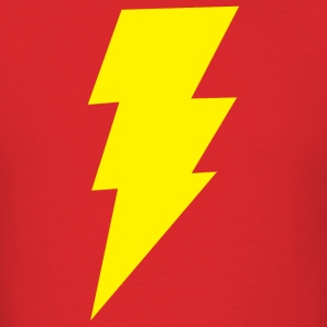 Big Bang Theory Lightning Bolt T-Shirt - Men's T-Shirt