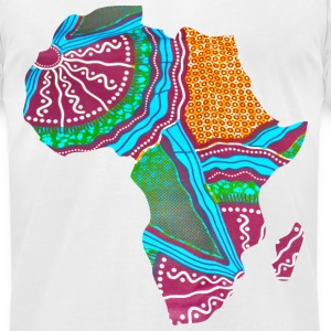 africa T-Shirts - Men's T-Shirt by American Apparel