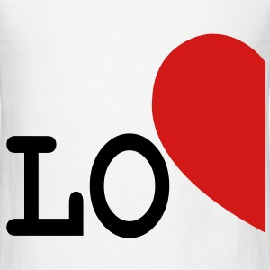 LOVE LEFT SIDE FOR COUPLES ONLY - Men's T-Shirt