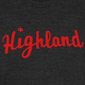 Highland Appliance T-Shirts - Unisex Tri-Blend T-Shirt by American Apparel