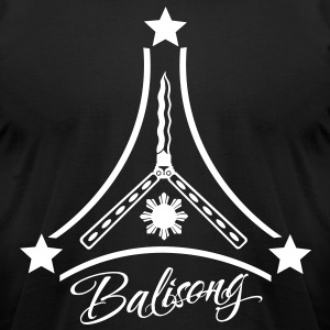 Arnis Balisong Design - Men's T-Shirt by American Apparel