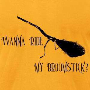 Ride My Broomstick - Men's T-Shirt by American Apparel