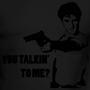You Talkin' to me? T-Shirts - Men's Ringer T-Shirt