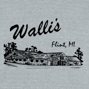 Walli's T-Shirts - Unisex Tri-Blend T-Shirt by American Apparel