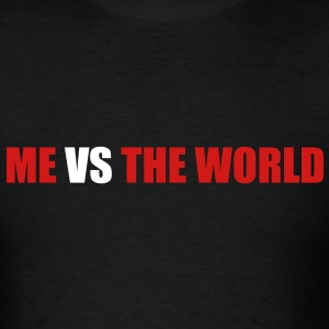 Me vs the world - Men's T-Shirt