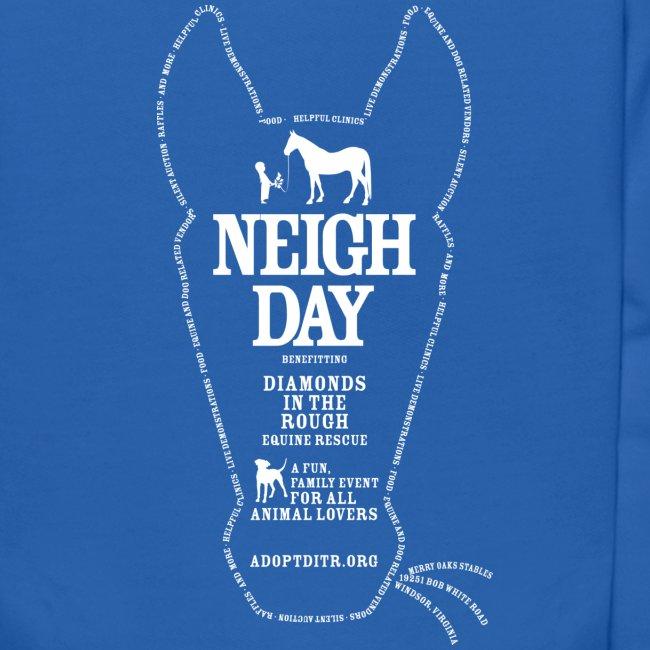 Kids Neigh Day Hoodie
