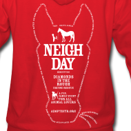 Design ~ Ladies Neigh Day Hoodie