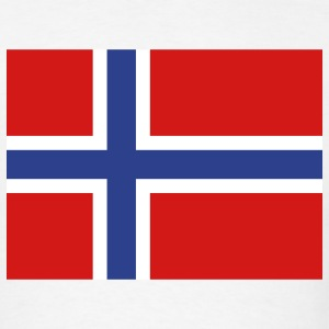 Norway - Norwegian flag - Men's T-Shirt