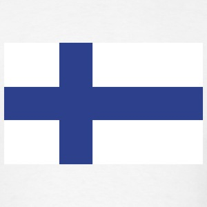 Finland- Finnish flag - Men's T-Shirt