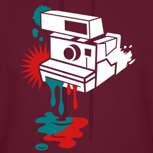 Instant camera - color drips out -  Hoodies - Men's Hoodie