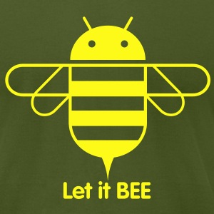Droid Bee T-Shirts - Men's T-Shirt by American Apparel