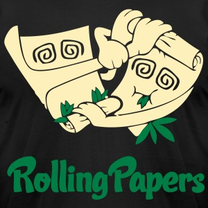 Rolling Papers T-Shirts - stayflyclothing.com - Men's T-Shirt by American Apparel