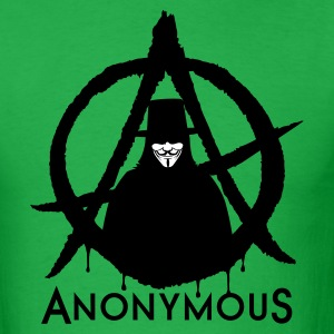 Anonymous Vendetta 2c T-Shirts - Men's T-Shirt