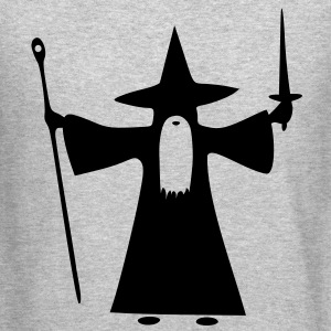 Wizard Long Sleeve Shirts - Crewneck Sweatshirt