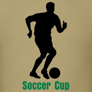Soccer Player Silhouette 01 T-Shirts - Men's T-Shirt