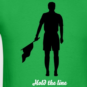 Soccer Referee Silhouette 02 T-Shirts - Men's T-Shirt