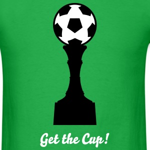 Soccer Cup Silhouette 02_2c T-Shirts - Men's T-Shirt