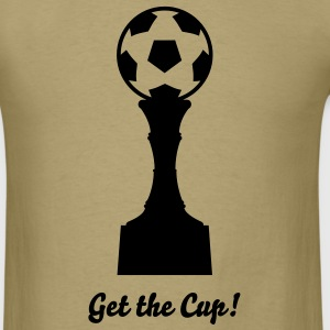 Soccer Cup Silhouette 02_1c T-Shirts - Men's T-Shirt