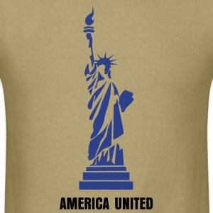 Statue of Liberty 01 T-Shirts - Men's T-Shirt