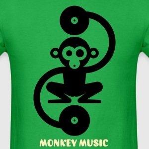 Monkey Music 1c T-Shirts - Men's T-Shirt