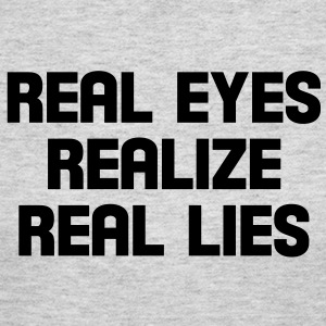 real eyes realize real lies Long Sleeve Shirts - Women's Long Sleeve Jersey T-Shirt