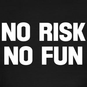 no risk no fun T-Shirts - Men's Ringer T-Shirt