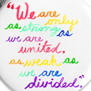 Unity - Albus Dumbledore Quote (no credit) Buttons - Large Buttons
