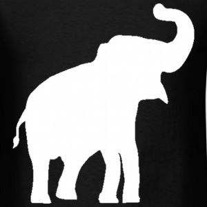 White Elephant Design T-Shirts - Men's T-Shirt