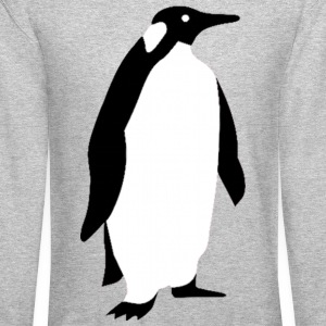 Penguin Design Long Sleeve Shirts - Crewneck Sweatshirt