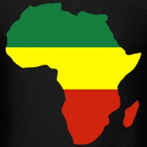 Africa Reggae Design T-Shirts - Men's T-Shirt