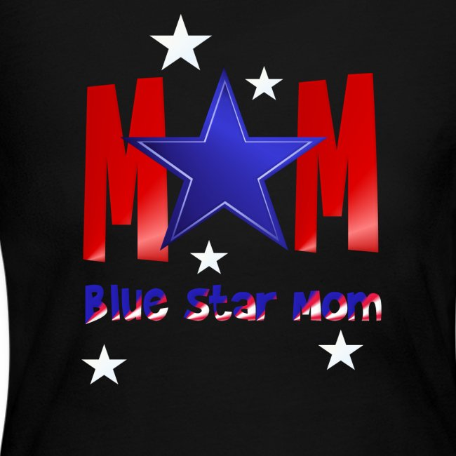 Blue Star Mom-Lettered