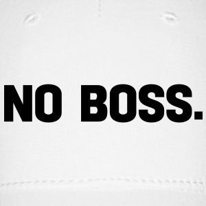 no boss Caps - Baseball Cap