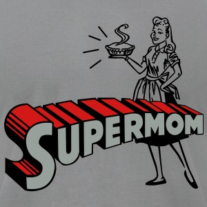 supermom T-Shirts - Men's T-Shirt by American Apparel