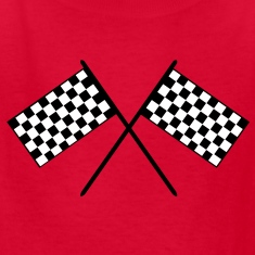 Grand Prix Flags Kids' Shirts