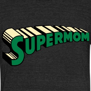 supermom T-Shirts - Unisex Tri-Blend T-Shirt by American Apparel