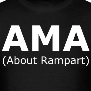 AMA (About Rampart) T-Shirts - Men's T-Shirt