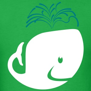 A whale? Hell Yes. T-Shirts - Men's T-Shirt